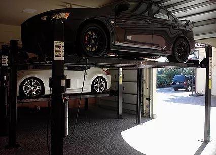 Residential Garage Car Lift
